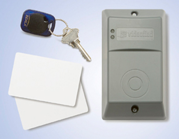 Outside Proximity Card Reader