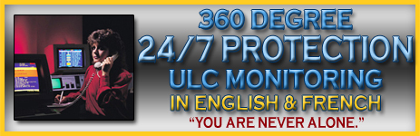 360 degree 24/7 protection in english and french